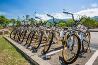 羅山遊客中心可租借單車